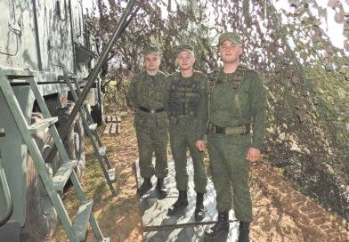 В Несвиже идет учение войск связи