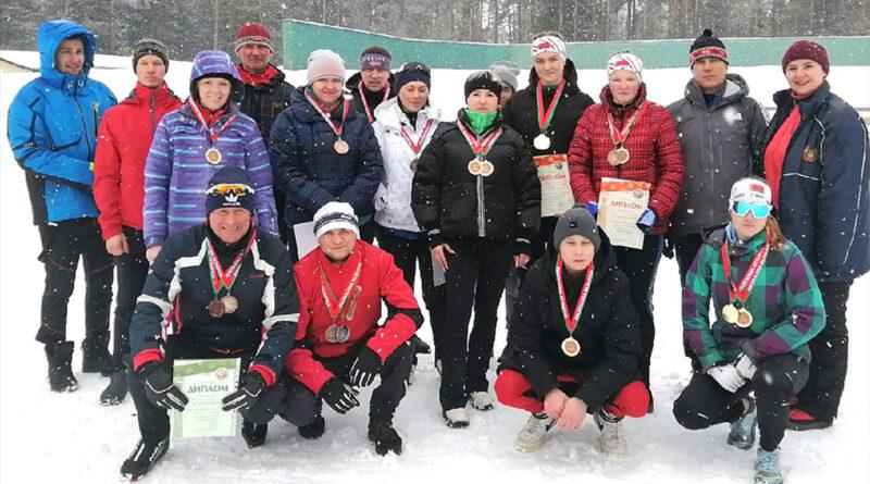 Несвижские лыжники показали себя на республиканских соревнованиях