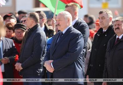 Лукашенко: чернобыльский удар сплотил белорусов в стремлении сохранить пострадавшие регионы
