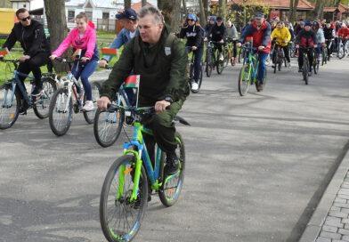 В Несвижском районе прошел патриотический велопробег