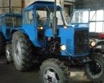 на зиму трактор
