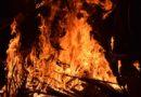 В ночном пожаре пострадали дачники из Осмолова