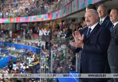 Лукашенко: быть у истоков создания Европейских игр – честь для Беларуси