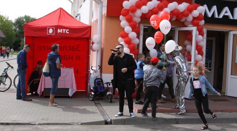 В Несвиже открылся новый салон связи
