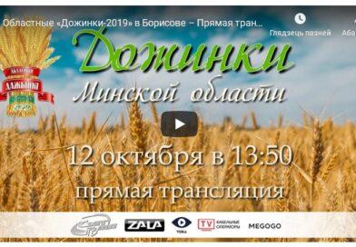 """Прямая трансляция областных """"Дожинок-2019"""" в Борисове"""
