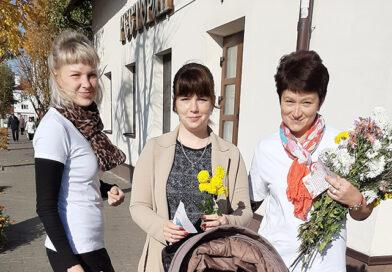 В Несвиже прошла акция «Прекрасен мир любовью материнской»