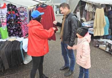 В Несвиже прошли новые пикеты в рамках районной акции «Избиратель – всё в твоих руках»