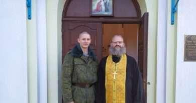 Священник принял участие в праздновании 40-летия 38-й отдельной гвардейской Венской Краснознаменной десантно-штурмовой бригады