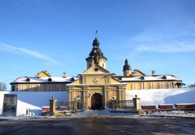 Нясвіжскі замак зімою – пазл для сапраўдных прафесіяналаў