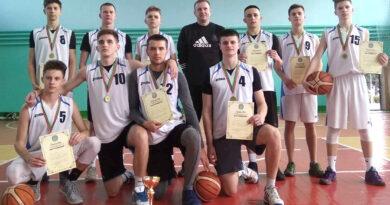 Наши баскетболисты – победители Областных олимпийских дней молодёжи