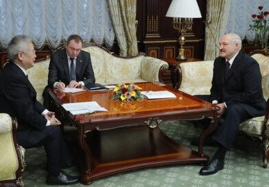 Лукашенко рассчитывает нарастить сотрудничество с Китаем