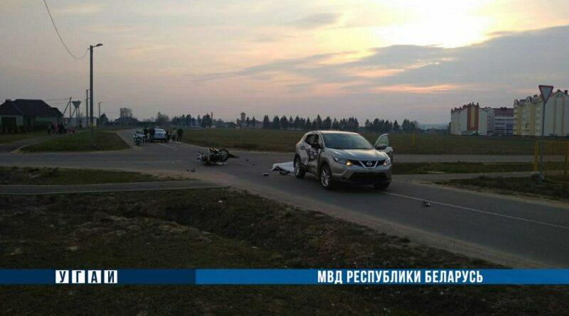 В Клецке в ДТП погиб мотоциклист