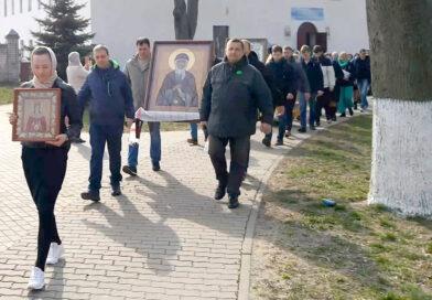 В Несвиже прошел традиционный крестный ход в честь святой праведной Софии княгини Слуцкой