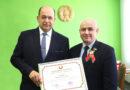 Вячеслав Минкевич награжден Почетной грамотой Национального собрания Республики Беларусь