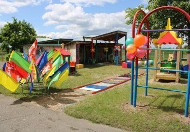 В Несвиже открыли новый детский игровой комплекс