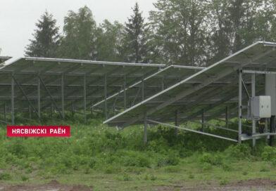 Необычное поле появилось под Несвижем: здесь будут работать почти 5000 солнечных батарей