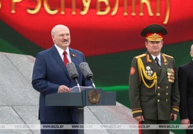 Ніхто не можа звонку пахіснуць стабільнасць  і незалежнасць Беларусі