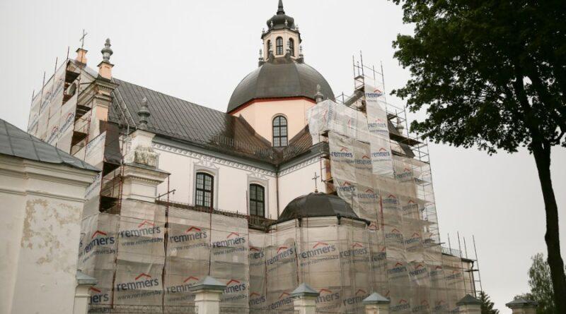 Стало известно, когда закончится реставрация Фарного костела в Несвиже